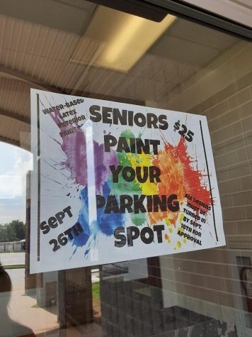 High School Seniors Paint Their Parking Spots!